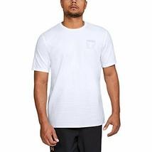 Under Armour Men's Project Rock T Shirt (Large) White - $19.79