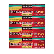 Kirkland Signature Maximum Strength HYDROCORTISONE 1% Plus 8oz, Anti-Itc... - $10.40