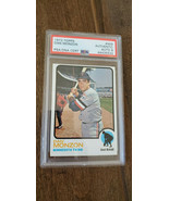 1973 TOPPS SIGNED AUTO ROOKIE CARD DAN MONZON MINNESOTA TWINS # 469 PSA ... - $299.99