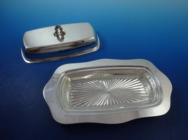 Sterling Silver Butter Dish with Acorn Style handle - $495.00
