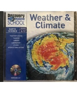 Weather & Climate (Earth Science Grades 6-12) [CD-ROM - Brand New] - $29.95