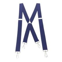 Romanlin Mens Suspenders with Swivel Hooks on Belts Loops Heavy Duty Big... - $16.14