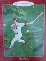 Mark Mcguire Saint Louis Cardinals Hallmark Christmas Ornament Baseball - $6.64