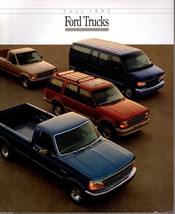 1992 Ford Truck Brochure F-150 Pickup Bronco Ranger Econoline Explorer A... - $8.54