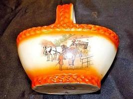 Czechoslovakia Ceramic Basket Decor - AA18-1368-B Vintage image 2