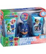 PJ Masks Soap & Scrub Kids Shampoo and Body Wash Bath Set, 4 pieces - $16.82