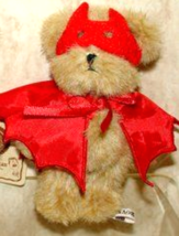 "Boyds Bears ""Lil' Tricks Devil"" #567978-3-  4"" Mini Bear Devil- NWT- Ret... - $14.99"