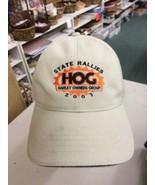 trucker hat baseball cap STATE RALLIES HARLEY DAVIDSON OWNER HOG vintage... - $39.99