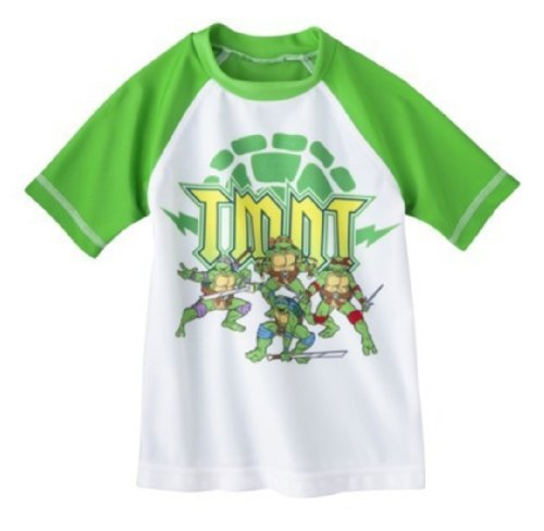 Nickelodeon Little Boys' Teenage Mutant Ninja Turtles Rashguard (3T)