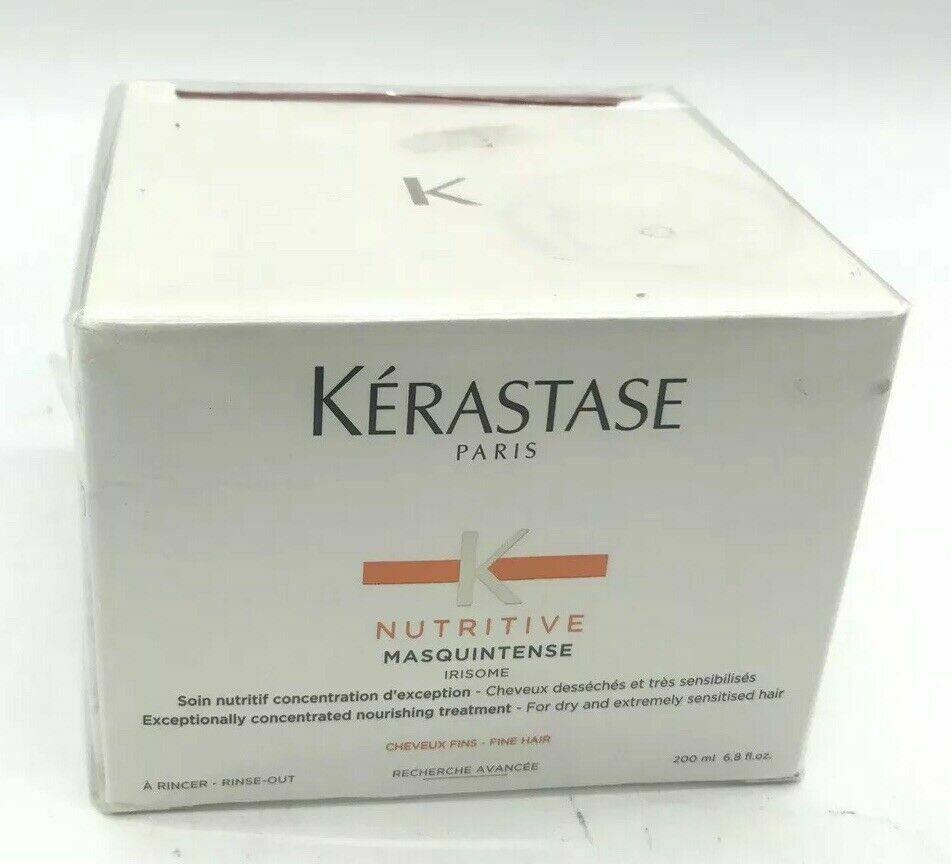 New Kerastase Nutritive Masquintense 6.8 oz Fine Hair Conditioning NIB SEALED