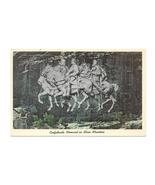 Stone Mountain Confederate Memorial Carving Georgia Vintage Glossy Postcard - $9.95
