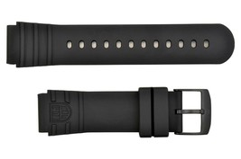 Luminox Watch Band Strap 22mm PU Sea Turtle Giant 0321.BO Black - $50.95