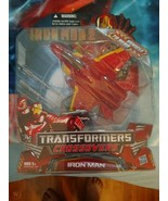 Iron Man 2 Transformers Crossovers Vehicle to Hero - $53.46