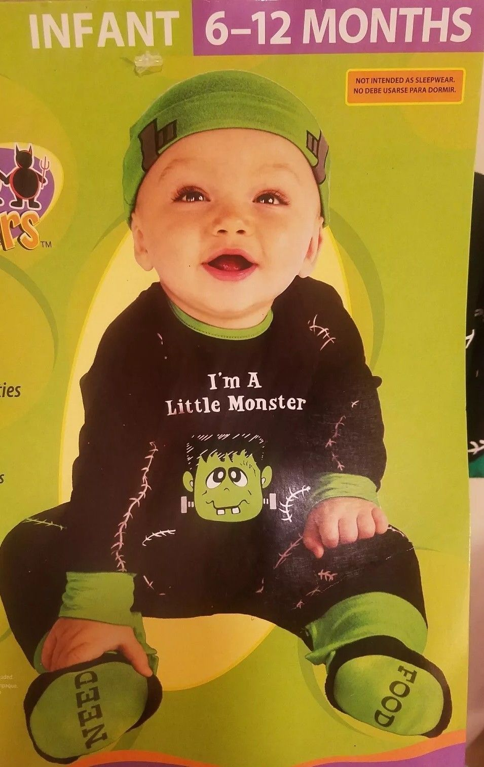 NEW Lil Monster Halloween Costume Baby and 29 similar items. S l1600  sc 1 st  Bonanza & NEW Lil Monster Halloween Costume Baby and 29 similar items