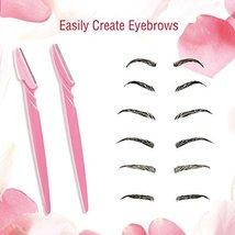 Boao 36 Pieces Eyebrow Razor Trimmer Shaper Shaver for Men and Women, Facial Raz image 6
