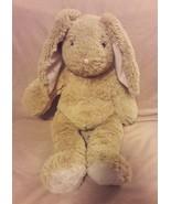 "BUILD A BEAR brown pink BUNNY RABBIT plush stuffed animal 19"" SING BIRTH... - $14.20"