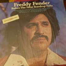 "ABC RECORDS~FREDDY FENDER ""BEFORE THE NEXT TEARDROP FALLS"" ~ RECORD VINY... - $16.50"