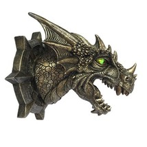 Dragon Dungeon Wall Plaque With LED Eyes - €24,63 EUR