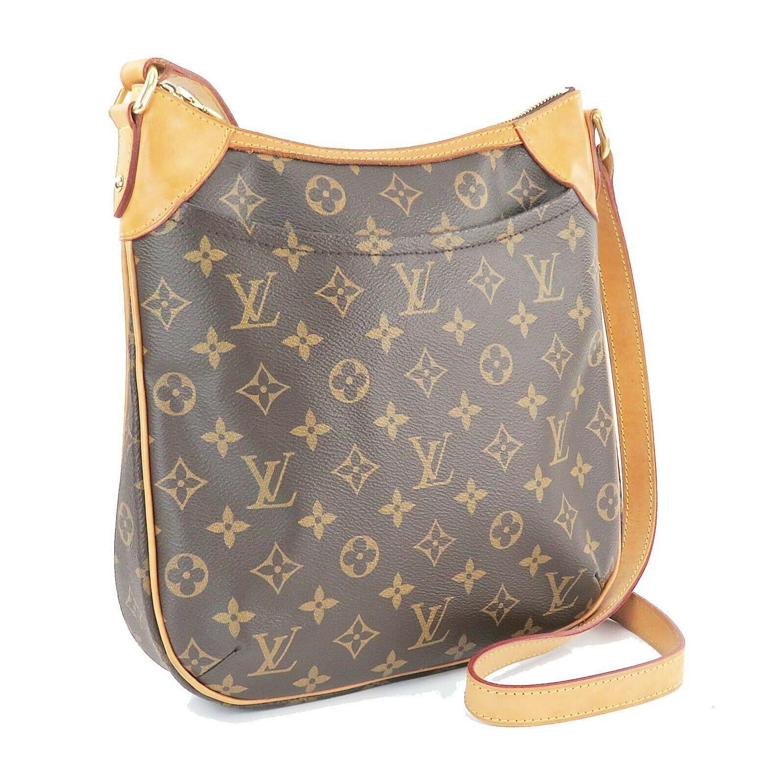 Authentic LOUIS VUITTON Odeon PM Monogram Shoulder Tote Bag Purse #32145 image 3