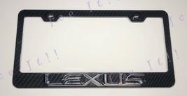 3D Lexus F Sport 3K Twill Weave 100% Real CARBON FIBER License Plate Frame - $38.60