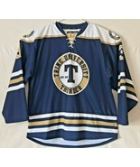 Trine University Thunder Authentic Hockey Jersey Men's Large (52) NCHA - $59.40