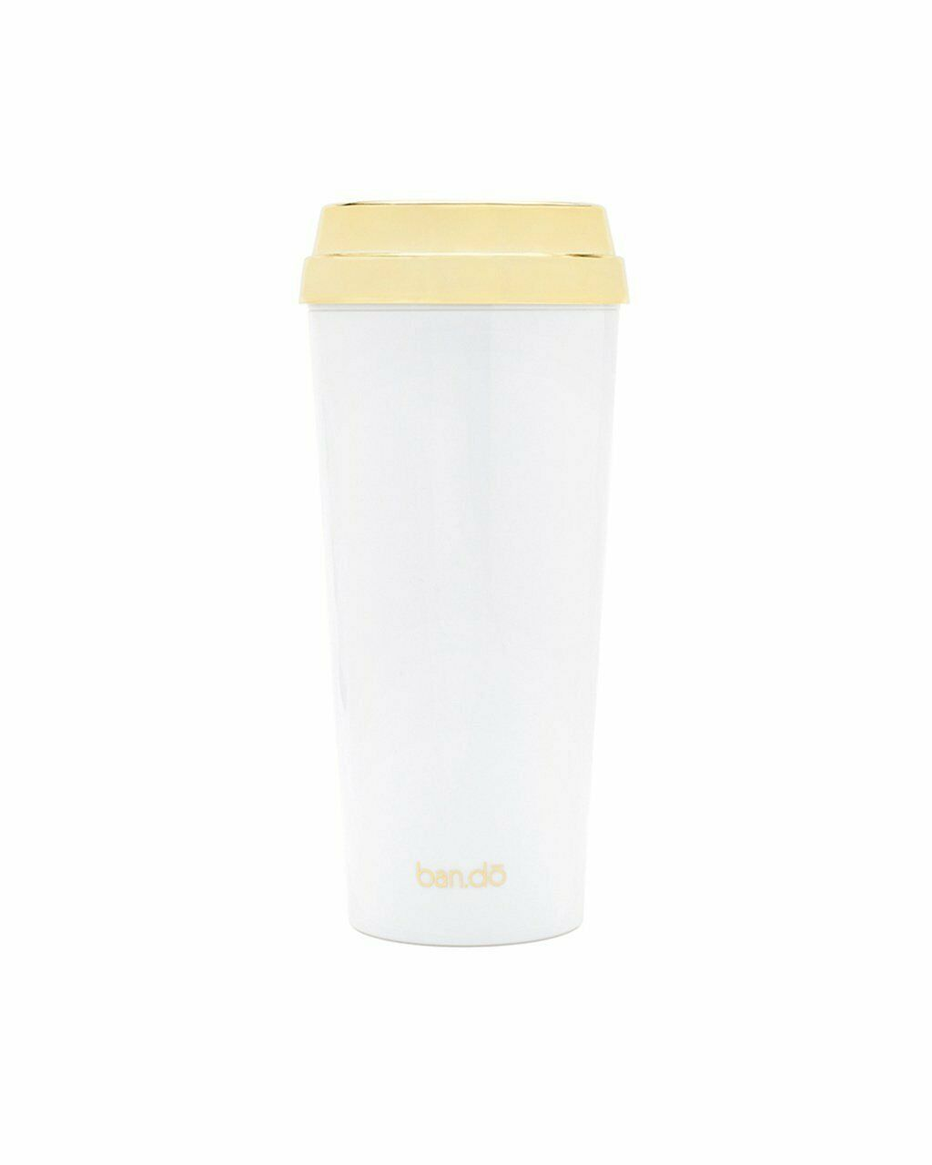 Ban.do Deluxe Hot Stuff Insulated Thermal Travel Mug 16 Ounces But First Coff... image 2