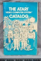 Vintage The Atari Video Computer System Catalog Video Game Booklet ajd - $5.93