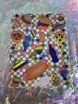 One Sticker Missing  Lisa Frank Junk Good Pizza Ice Cream Sheet S121