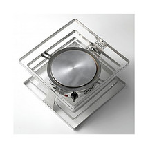 10 x 10 x 5 1/4 inch Riser 18/2 Stainless Steel with Bon Chef 12090 Heater - $447.02