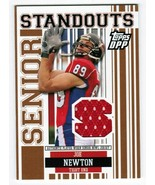 Joe Newton 2007 Topps DPP Draft Picks Prospects Senior Standouts Jersey ... - $3.00