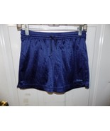 Reebok Navy Blue Mesh Shorts Size M Girl's EUC - $18.69
