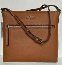 New Kate Spade NY Jackson Top Zip crossbody handbag Leather Warm Gingerb... - $99.00