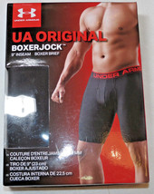 "Under Armour UA Original BoxerJock 9"" inseam boxer brief M 30-32 black 0... - $25.73"