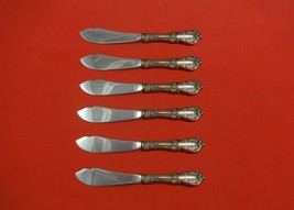 "Burgundy by Reed & Barton Sterling Silver Trout Knife Set 6pc Custom 7 1/2"" - $429.00"