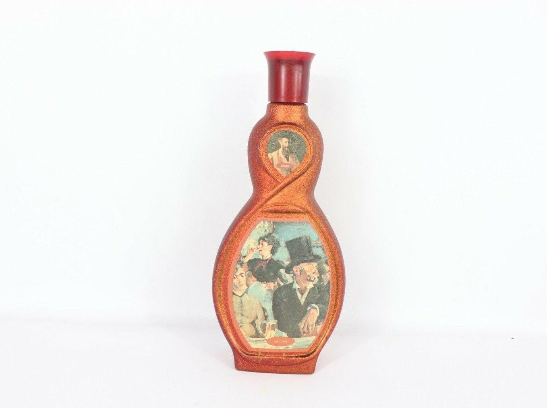 Vtg 70s Jim Beam Beams Choice Manet Au Cafe Collectible Bottle Kentucky Bourbon - $17.77