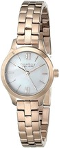 Caravelle New York Women's 44L156 Rose Gold-Tone Stainless Steel Watch - $260.86