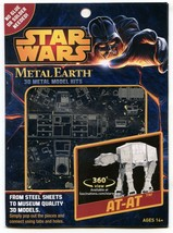 Metal Earth Star Wars AT-AT 3D Puzzle Micro Model Museum Quality Replicas - $12.86