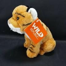 Wild Republic Baby Tiger Realistic Sounds Growl Calls Plush Stuffed Animal NEW - $16.82