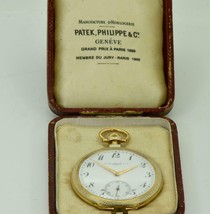 Rare historic 18k gold&enamel Patek Philippe pocket watch for 1936 Olymp... - $55,224.09
