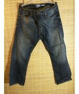Signature by Levi Strauss & Co. Mens Jean Dark Wash Cotton Blend 38 x 29... - $21.55
