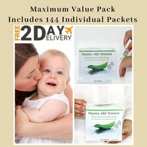144 PACKAGES Vitamin A+D Ointment A & D 5gm PACKETS - $16.61