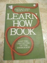 Coat and Clarks Book Learn How Book 1975 - $19.49