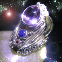 HAUNTED RING FLY ME TO THE HEAVENS HIGHEST SUCCESS WEALTH LUCK OOAK MAGICK  - $9,337.77