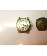 MAURICE CATTIN VINTAGE 6 JEWEL CUSHION CASE WATCH FOR TRENCH RESTORATION... - $134.49