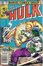 (CB-7) 1983 Marvel Comic Book: The Incredible Hulk #285 - $5.00