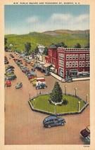 MURPHY, North Carolina NC   PUBLIC SQUARE & TENNESSEE STREET SCENE  Post... - $4.86