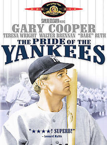 Primary image for DVD The Pride of the Yankees: Gary Cooper Teresa Wright Walter Brennan Babe Ruth