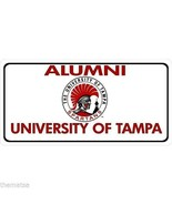 UNIVERSITY OF TAMPA ALUMNI COLLEGE LOGO PHOTO LICENSE PLATE MADE IN USA - $27.07