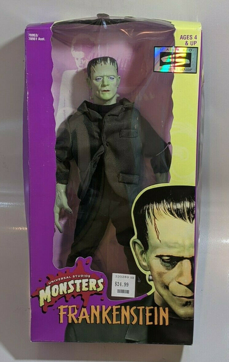 Primary image for 1998 Hasbro Universal Studio Monsters Frankenstein 12 Inch Action Figure NIB NEW