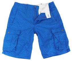 BRAND NEW LEVI'S MEN'S COTTON CARGO SHORTS ORIGINAL RELAXED FIT BLUE 124630030 image 2